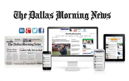 Image for How The Dallas Morning News uses social media to coordinate the newsroom