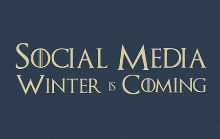 Image for Social Media Winter is Coming