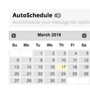Graphic for Automatic content scheduling