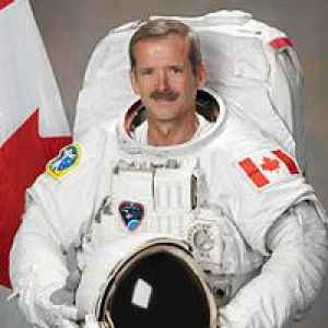 Foto von Col. Chris Hadfield