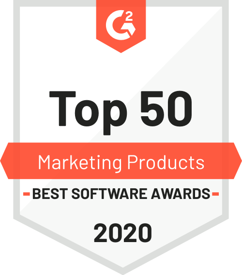 G2 Bsa Top 50 Marketing Products 2020 logo