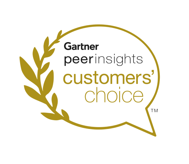 Gartner Award@2X logo