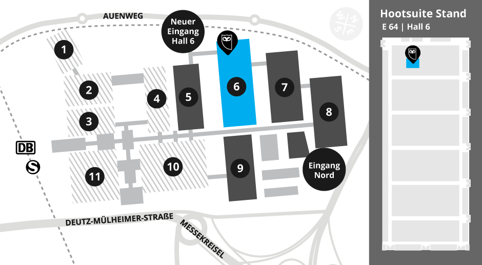 Dmexco Map 2017