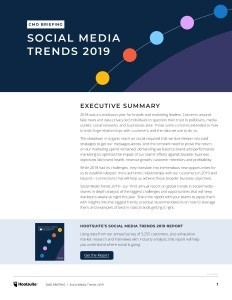 Social Media Trends2019 Executive Briefing En