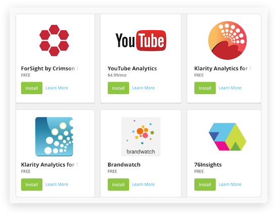 Analytics Feature Apps Integrations@1X