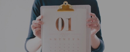 Image for Social Media Strategy Guide 'How to create a social media content calendar' Polaroid Card