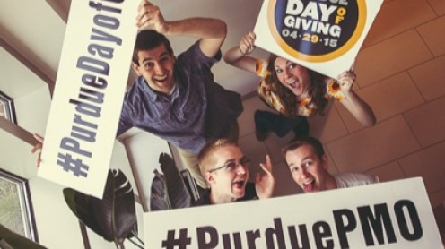 Image for How Purdue University used Hootsuite to help raise $28.2M in a single day