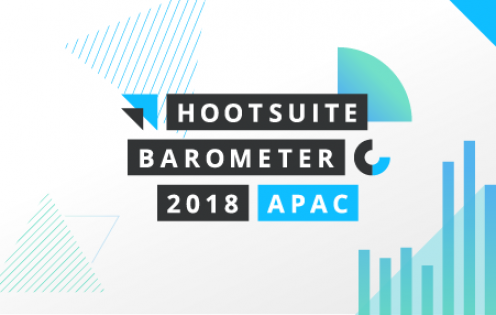 Image for Hootsuite Social Media Barometer Report 2018