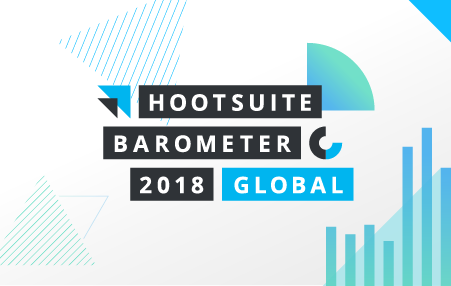 Image for Hootsuite's Social Media Barometer Report 2018